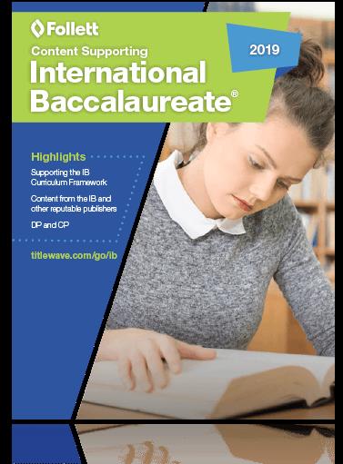 International Baccalaureate Resource Insert