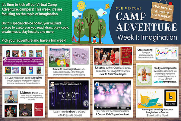 Virtual Camp Adventures